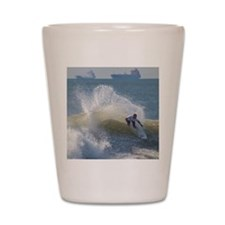 Quicksilver Surfing Shot Glass