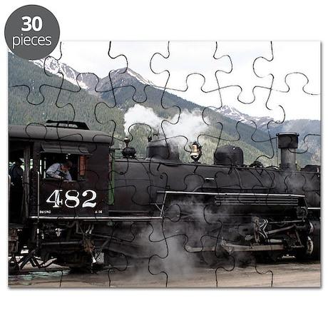 Steam Train: Colorado 2 Puzzle