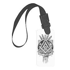 Masonic Abundance Luggage Tag