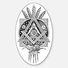 Masonic Abundance Sticker (Oval)