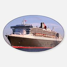 Cruise Ship 2 Sticker (Oval)