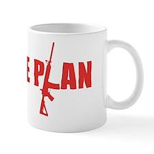 Zombie Plan Red Mug