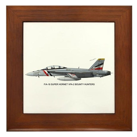 VFA-2 Bounty Hunters Framed Tile