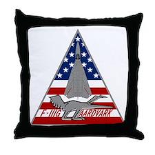 F-111G Aardvark Throw Pillow