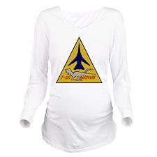 F-111G Aardvark Long Sleeve Maternity T-Shirt