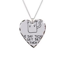 Here is the drawing of a cat_ Necklace