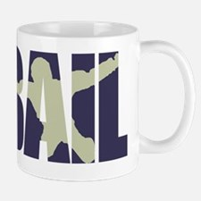 Bail Silhouette Logo (purple) Mug