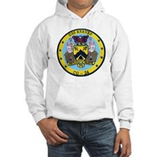 uss reeves cg patch transparent Hoodie