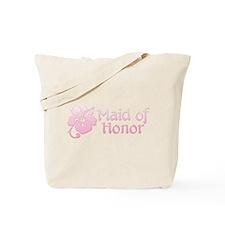 Hibiscus Maid of Honor Tote Bag