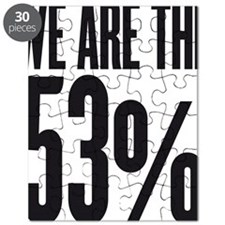 We are the 53 percent Puzzle