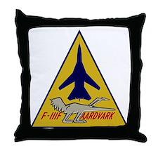 F-111F Aardvark Throw Pillow