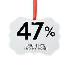 47, percent Ornament