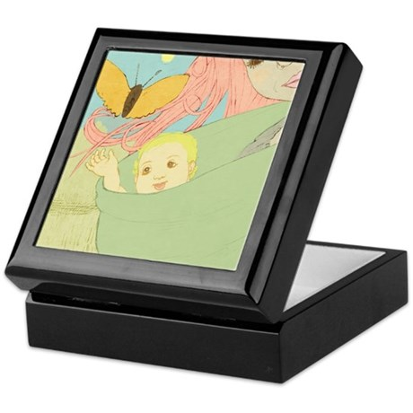 The gift Keepsake Box