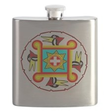 SOUTHEAST INDIAN DESIGN Flask