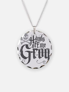Hands Off Me Grog Necklace