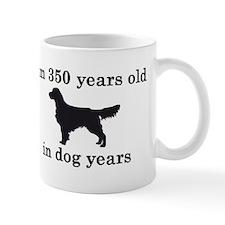 50 birthday dog years golden retriever 2 Mugs