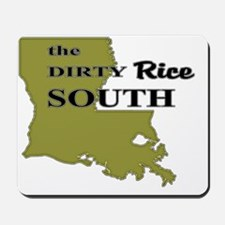 dirty rice south Mousepad