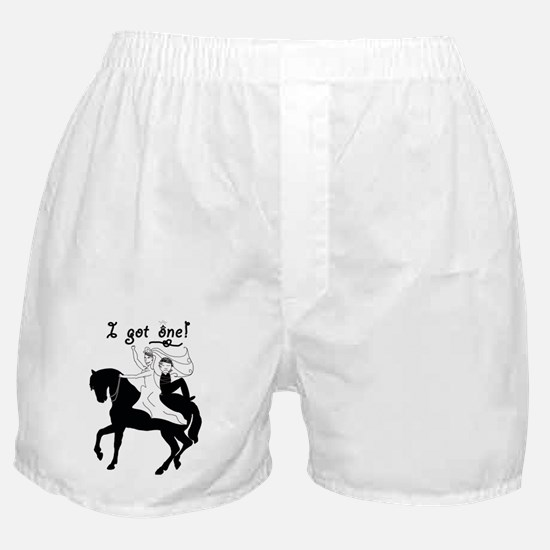 Horseback Bride Boxer Shorts