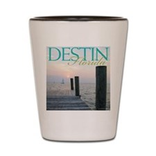 Cruise Destin Shot Glass