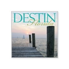 "Cruise Destin Square Sticker 3"" x 3"""
