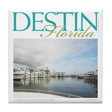Destin Harbor Tile Coaster