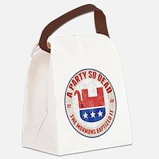 gop-eleph-dead-T Canvas Lunch Bag