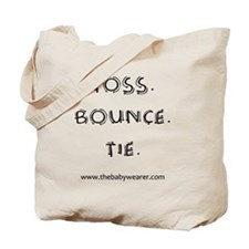 Toss. Bounce. Tie. Tote Bag