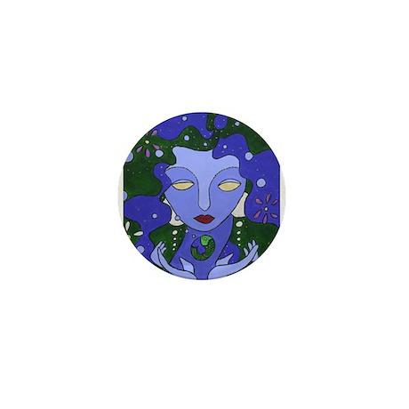 Water Elemental Mini Button (10 pack)