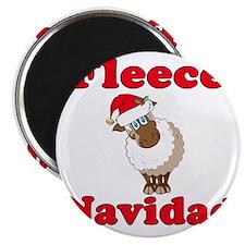 Fleece Navidad Magnet