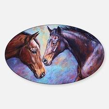 Dakine and Devina Sticker (Oval)