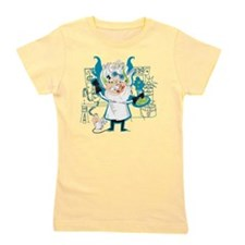 Dr. Stahl, Mad Scientist Girl's Tee