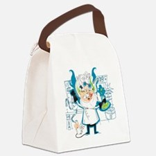 Dr. Stahl, Mad Scientist Canvas Lunch Bag