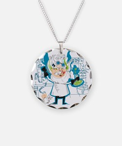 Dr. Stahl, Mad Scientist Necklace