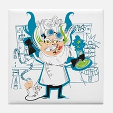 Dr. Stahl, Mad Scientist Tile Coaster