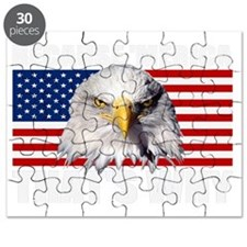 Because MERICA Thats Why US Flag American E Puzzle