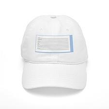 JewishLuggTagSmall-ID-a Baseball Cap