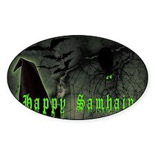 Happy Samhain Decal