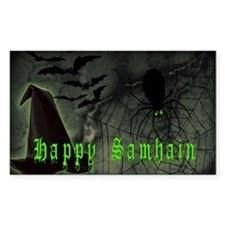 Happy Samhain Decal