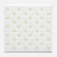 wi Pattern Tile Coaster