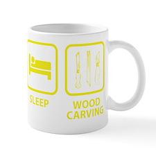 EatSleepWoodCarving1E Mug