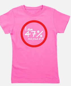 I am 47 percent Girl's Tee