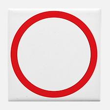 I am 47 percent Tile Coaster