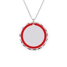 I am 47 percent Necklace Circle Charm