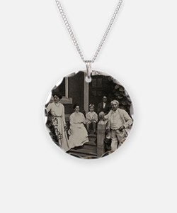 Family of Thomas Edison, US  Necklace