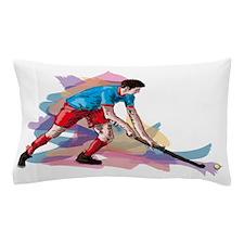 Hockey player Pillow Case