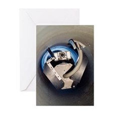 Sewer inspection robot Greeting Card