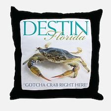 Crabby? Throw Pillow