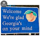 Georgia peach Puzzles
