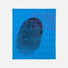 Fingerprint Throw Blanket
