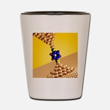Seebeck electrical effect, artwork Shot Glass